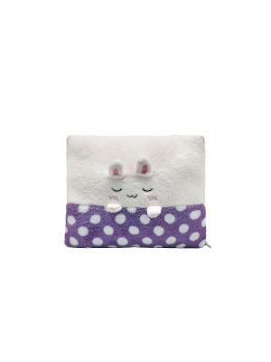 Плед-трансформер Кролик (фиолетовый) Kawaii Factory. Цвет: фиолетовый