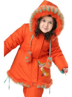 Комплект Лисичка OVAS. Цвет: оранжевый