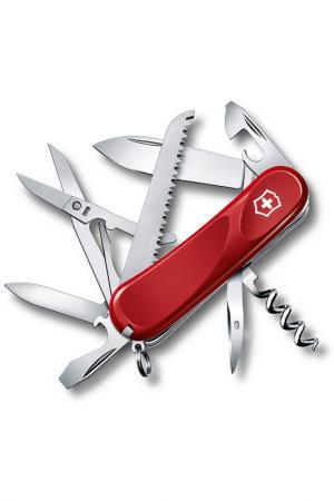 Нож перочинный 15 функций Victorinox. Цвет: красный