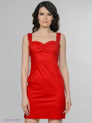 Сарафан Satin. Цвет: красный