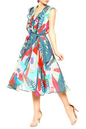 Платье BGN. Цвет: red