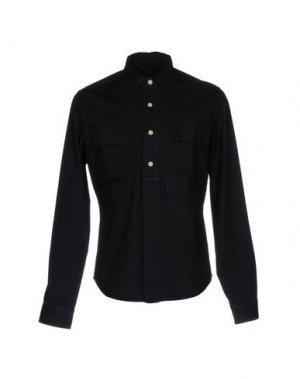 Джинсовая рубашка CALVIN KLEIN JEANS. Цвет: темно-синий