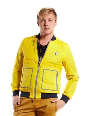 Куртка NICKELSON. Цвет: желтый