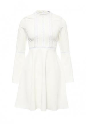 Платье C.H.I.C.. Цвет: белый