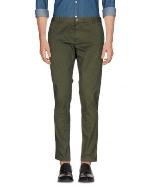 Повседневные брюки BASICON. Цвет: зеленый