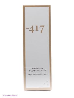 Мыло жидкое очищающее  отбеливающая White Diamond Minus 417. Цвет: белый
