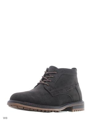 Ботинки Escan. Цвет: коричневый