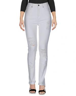 Джинсовые брюки DR. DENIM JEANSMAKERS. Цвет: белый