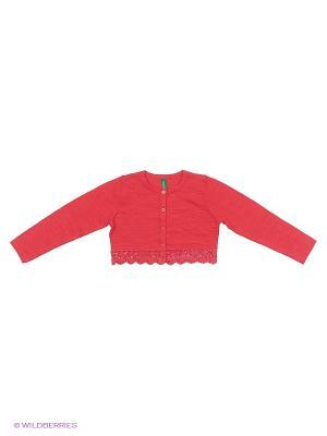 Болеро United Colors of Benetton. Цвет: красный