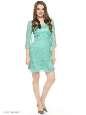 Платья ZAYKINS. Цвет: зеленый