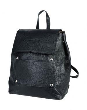 Рюкзаки и сумки на пояс MANOUKIAN. Цвет: черный