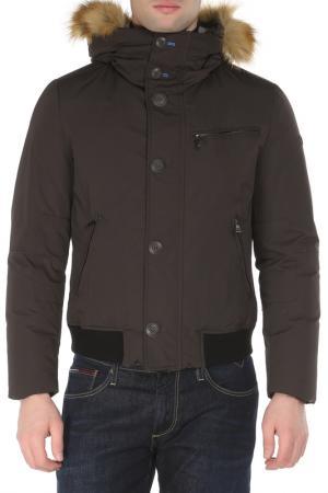 Куртка UP TO BE. Цвет: серый
