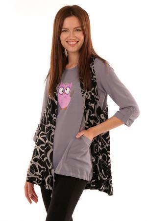 Комплект (блузка + жилет) Modeleani
