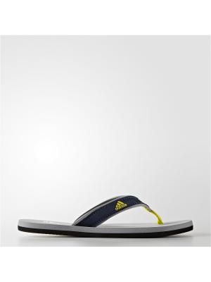 Сланцы дет. спорт. Beach Thong K Adidas. Цвет: серый