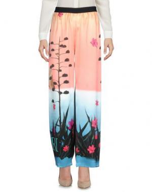 Повседневные брюки SHIRTAPORTER. Цвет: лососево-розовый