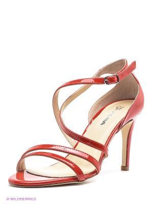 Босоножки Alba. Цвет: красный