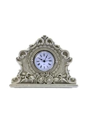 Настольные часы Барокко essentic. Цвет: серый