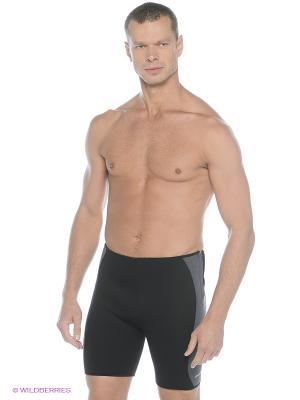 Шорты для похудения Iron Body. Цвет: черный