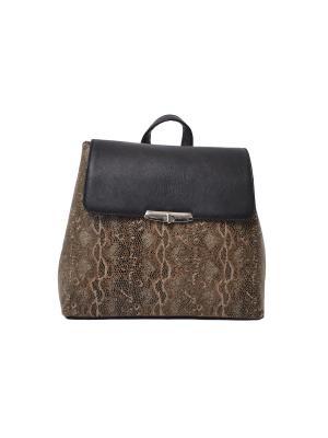 Рюкзак молодежный GOOD BAG. Цвет: коричневый