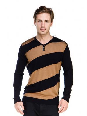 Пуловер VipDressCode. Цвет: коричневый