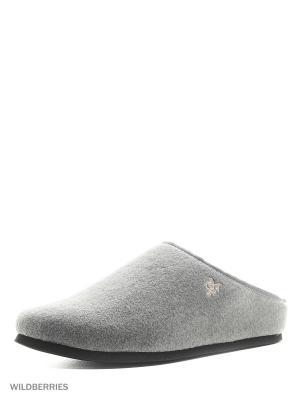 Тапочки Marc O`Polo. Цвет: серый