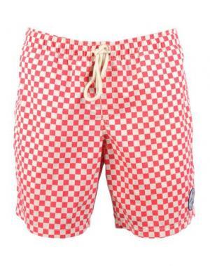 Пляжные брюки и шорты VANS. Цвет: красный