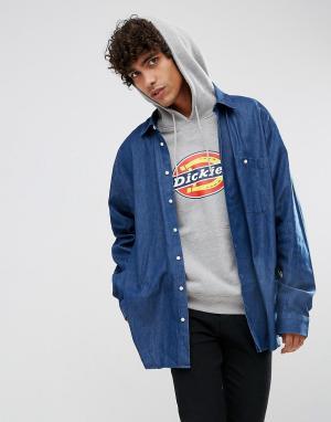 Dead Vintage Джинсовая рубашка James. Цвет: синий