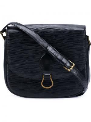 Сумка через плечо St Cloud GM Louis Vuitton Vintage. Цвет: чёрный