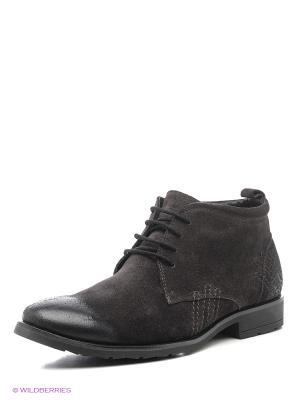 Ботинки CARLO BELLINI. Цвет: серый