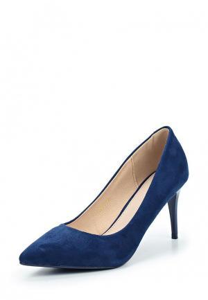 Туфли Damerose. Цвет: синий