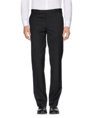 Повседневные брюки BAND OF OUTSIDERS. Цвет: стальной серый