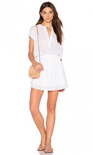Платье jolie Rails. Цвет: белый