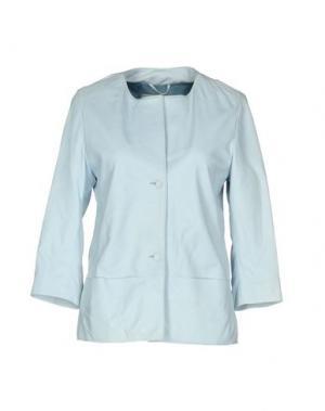 Пиджак VINTAGE DE LUXE. Цвет: небесно-голубой