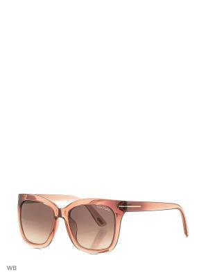 Солнцезащитные очки FT 9313 72F Tom Ford. Цвет: прозрачный, розовый
