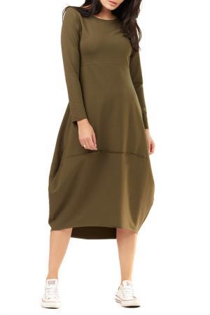 Dress Awama. Цвет: khaki