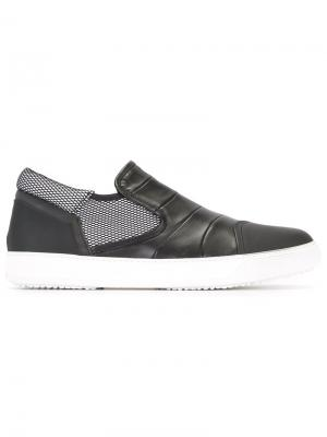 Slip-on sneakers Bruno Bordese. Цвет: чёрный
