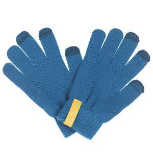 Перчатки  Touchgloves Petrol TrueSpin. Цвет: синий