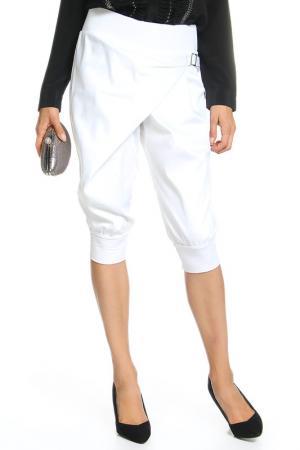 Брюки M&L Collection. Цвет: белый