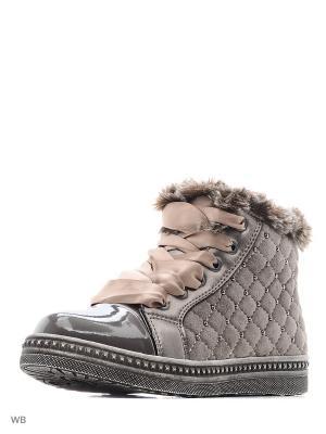 Ботинки Kapika. Цвет: темно-бежевый