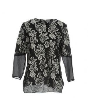 Блузка MAIYET. Цвет: черный