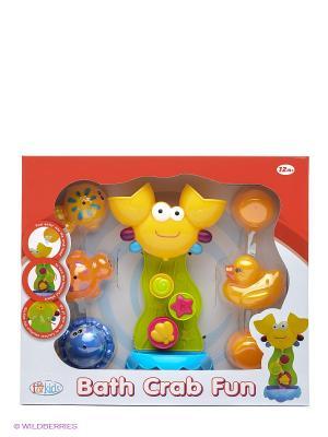 Игрушка для воды Краб Toy Target. Цвет: желтый