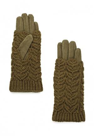 Перчатки Sabellino. Цвет: зеленый
