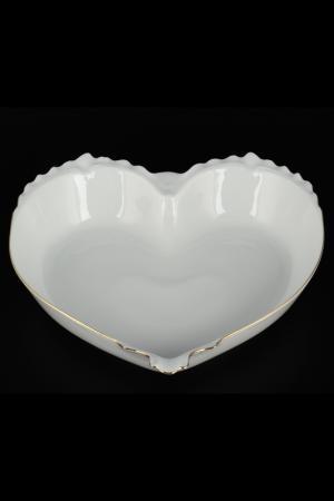 Конфетница Сердце 26 см QUEENS CROWN. Цвет: мультиколор