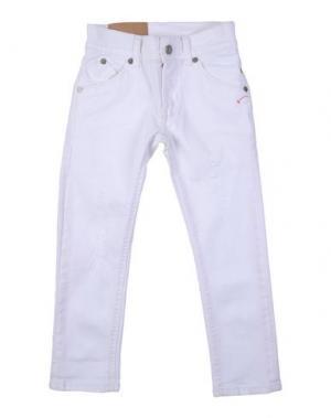 Джинсовые брюки DONDUP DKING. Цвет: белый