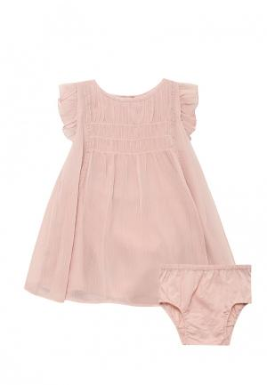 Комплект платье и трусы Gap. Цвет: розовый
