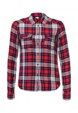 Рубашка Roxy. Цвет: красный