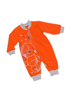 Комбинезон LITTLE WORLD OF ALENA. Цвет: оранжевый