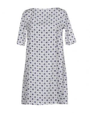 Короткое платье BINI Como. Цвет: белый