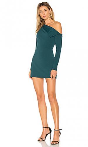 Платье leila 16 Susana Monaco. Цвет: зеленый