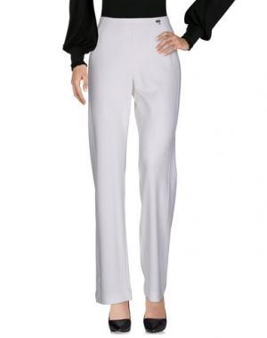 Повседневные брюки SEVERI DARLING. Цвет: белый